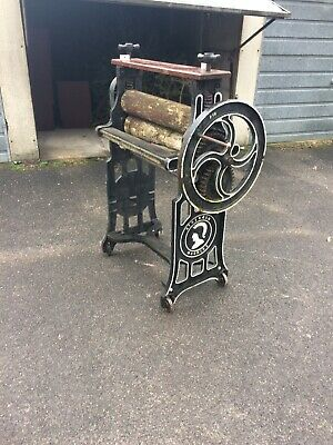 Cast Iron Mangle Very Good Condition Antique Vintage