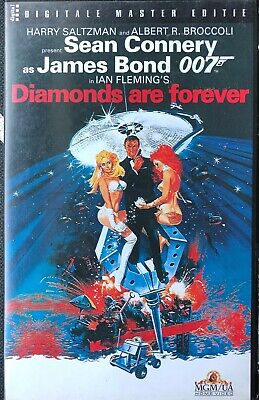 Diamonds Are Forever - James Bond - Sean Connery - Vhs