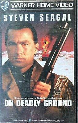 On Deadly Ground - Steven Seagal - Vhs