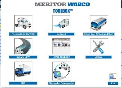 Meritor Wabco Toolbox 12.6.1 (install unlimited PC) 2018