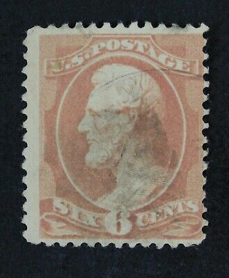 CKStamps: US Stamps Collection Scott#208 6c Lincoln Used CV$110