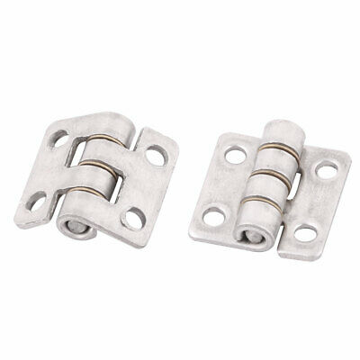 "0.8"" Length Home  Stainless Steel Cupboard Closet Cabinet Door Hinges 2pcs"