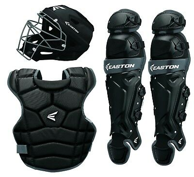 Easton Prowess Qwikfit Girls Fastpitch Softball Catchers Box Set Black A165387BK