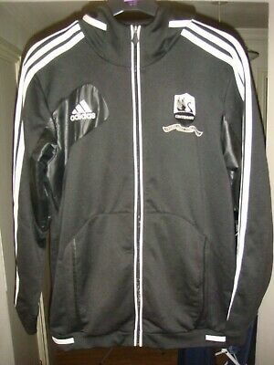 Swansea City Centenary Tracksuit Top HOODIE not Football Shirt -2012 -LARGE-Y154