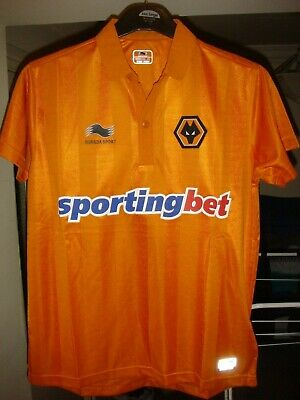 Wolverhampton Wanderers HOME Football Shirt - 2012/13 - XS Adult - BNWT - Y115