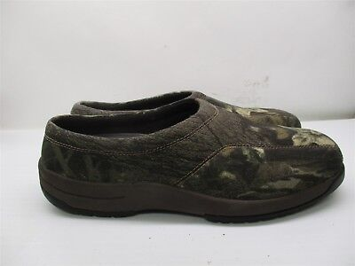 96924dc5cfec WALKABOUT Slippers Men s Size 12 D Hiking Hunting Camouflage Green  B2163
