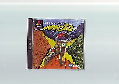 International Moto X - Playstation Ps1 Game / Ps2 Ps3 Compatible - Complete  Vgc