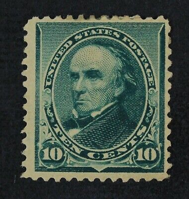 CKStamps: US Stamps Collection Scott#226 10c Webster Mint HR OG Tiny Thin