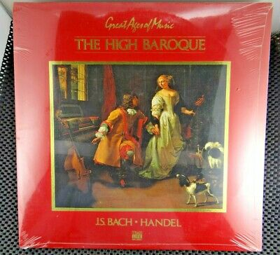 Great Ages Of Music: The High Baroque (Time Life Music ‎– SGMU-01) Sealed
