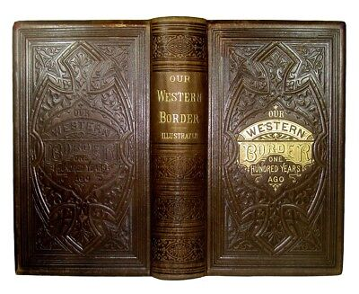 AMERICAN FRONTIER OLD WEST 1876 INDIAN WAR Pioneer Life DANIEL BOONE Illustrated