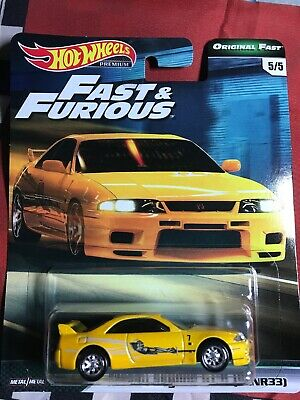 2019 Hot Wheels Fast And Furious Nissan Skyline R33 On Hand