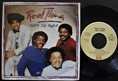 Real Thing 1982 Single Made In Portugal 45 Ps 7 *look Up (To The Sky)*