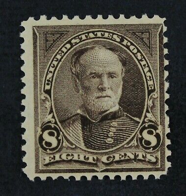 CKStamps:US Stamps Collection Scott#272 8c Sherman Mint NH OG Lightly Gum Crease