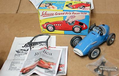 Schuco Grand Prix Racer 1070  Made In West Germany + Box & Brochures !  W421