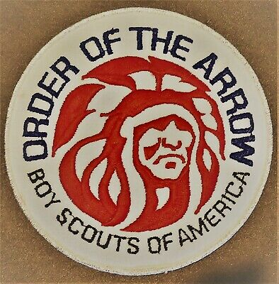 Boy Scout Order of the Arrow MGM Indian Embroidered Decal 6132X