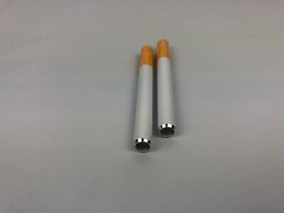 "2 x 3"" Cigarette Pipe One Hitter Tobacco Smoking dugout Metal Bat 78MM NEW"