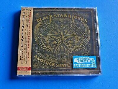 2019 JAPAN CD BLACK STAR RIDERS ANOTHER STATE OF GRACE w/BONUS TRACK FOR JAPAN