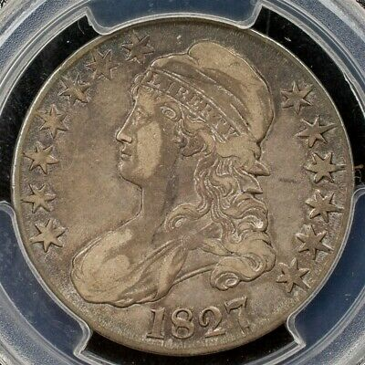 1827 Capped Bust Half Dollar Overton O-121 - PCGS VF30-Sq. Base 2-CAC Certified