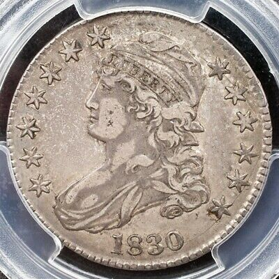 1830 Capped Bust Half Dollar Overton O-107a - PCGS VF35 - Sm. 0 - CAC Certified