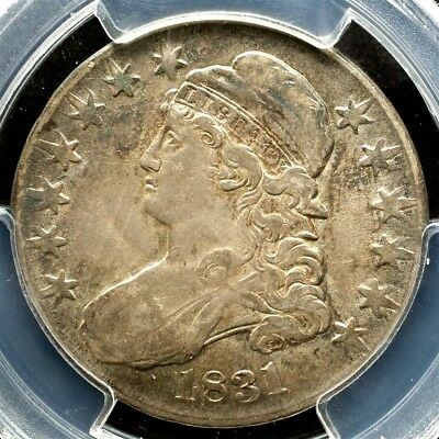 1831 Capped Bust Half Dollar, Overton O-110a Variety - PCGS XF45, CAC Approved