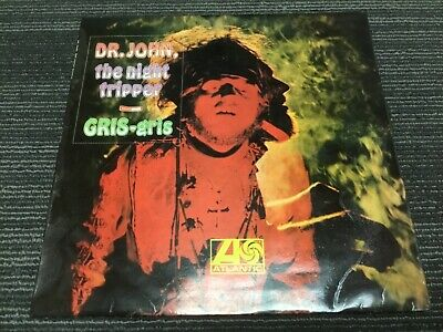 DR JOHN THE NIGHT TRIPPER GRIS GRIS OG UK STEREO ATLANTIC LP  A1/B1 Beautiful!
