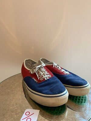 5893c9ed1994f7 RARE Marc Jacobs VANS Old Skool Size 7 RED BLUE MENS LACE UP