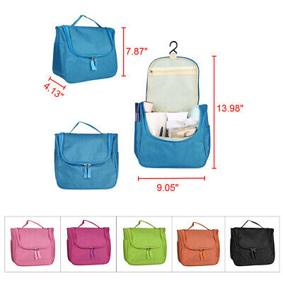 Travel Portable Cosmetic Bag Toiletry Organizer Storage Hanging Pouch Waterproof