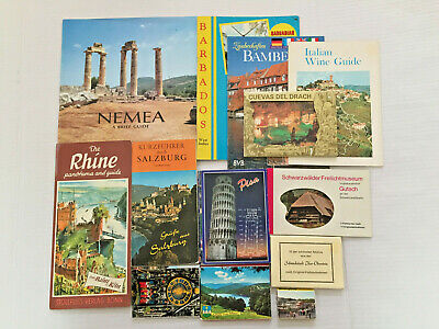 Europe Travel Brochure Visitors' Guide Vacation Post Card Booklet /Junk Drawer