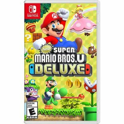New Super Mario Bros. U Deluxe for Nintendo Switch Brand New! Factory Sealed!