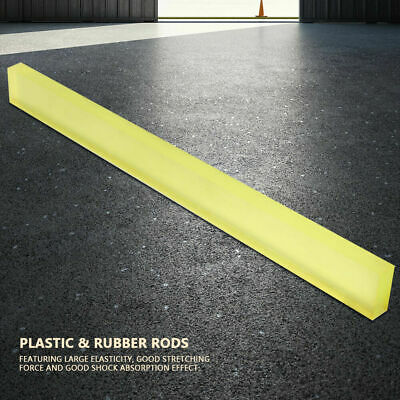 High Elastic Wear-resistant Plastic & Rubber Rods Polyurethane Square Strip Bar