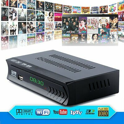 DVB-S2 Full HD Combo Digital Satellite+Wifi IPTV Receiver TV Digital Set Top Box