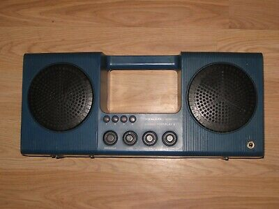 Vintage Realistic Portiplay 14-918 8 Track Player Boombox/Blue/Fully Functional!