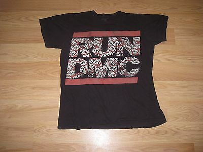 Live Nation Run DMC Throwback Rap/Hip Hop/B Boy T-Shirt/Free Shipping!