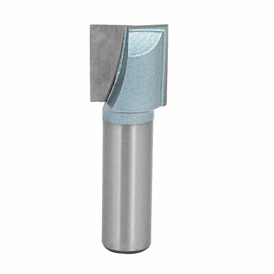 """1/2"""" Shank 3/4"""" Cutting Dia 2-Flute Carbide Tipped Cleaning Bottom Router Bit"""