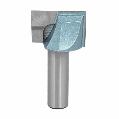 """1/2"""" Shank 1-1/4"""" Dia 2-Flute Carbide Tipped Cleaning Bottom Router Bit"""