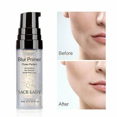 6ML Smooth Face Skin Makeup Primer Invisible Pore Wrinkle Cover Concea  BT