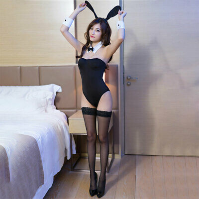 Adult Girl Sexy Women Bunny Rabbit Costume Lingerie Cosplay Babydoll Outfit
