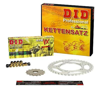 Kettensatz Honda CB 125 F (JC64) 15-16 DID VX X-Ring G&B CLIP