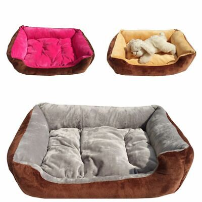 Pet Soft Warm Kennel Large Pet Dog Cat Bed Puppy Cushion House Dog Mat Blanket