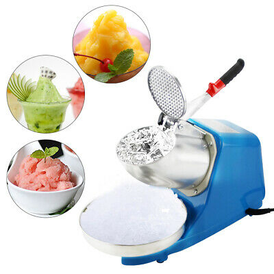 Electric Ice Crusher, Ice Shaver Machine,Shaving Crusher,Snow Slushie Cone Maker