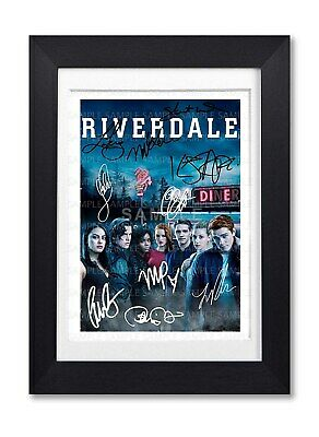 Riverdale Cast Signed Poster Print Tv Show Series Season Photo Autograph Gift