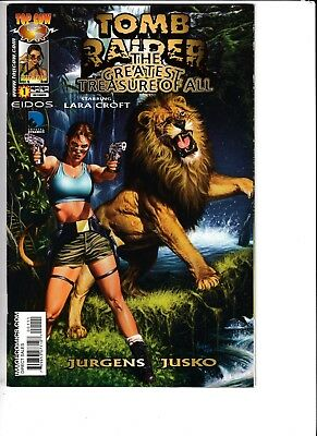 TOMB RAIDER: THE GREATEST TREASURE OF ALL, JUSKO PAINTED, Image/Top Cow (2005)