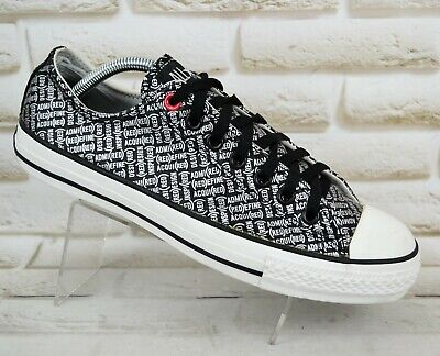 CONVERSE ALL STAR Mens Low Trainers Lace-Up Shoes Sneakers Size 9 UK 42.5 EU