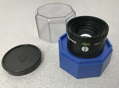 Schneider-Kreuznach Componon-S 80mm f4 Enlarging Lens - with Case