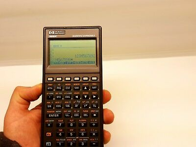 CALCULATRICE Hewlett Packard HP 48SX  RPN Programmable  RARE & VINTAGE