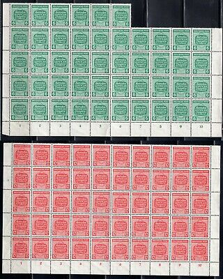 Lot Germany, 1945, Mi124 - 125, OVER 90% MNH, combine shipping 06