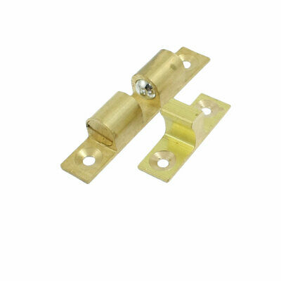 Home Door Latch Double Ball Catch 60mm Long Gold Tone New