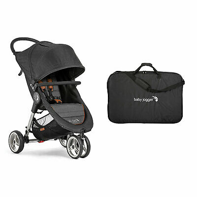 Baby Jogger City Mini 3 Wheel Single Stroller Padded Travel Carry Bag