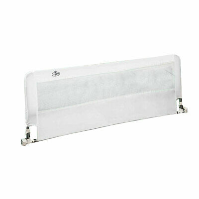 Regalo 20-Inch HideAway Extra Long Safety Support Bed Rail with Mesh Wall, White