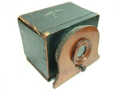 POLYORAMA PANOPTIQUE & 5 SLIDES French Optical Toy from 1850s